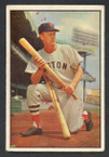 1953 Bowman Color Baseball # 025  Hoot Evers Boston Red Sox VG
