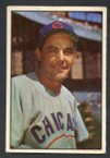 1953 Bowman Color Baseball # 030  Phil Cavarretta Chicago Cubs VG