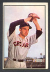 1953 Bowman Color Baseball # 073  Billy Pierce Chicago White Sox VG