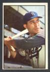 1953 Bowman Color Baseball # 078  Carl Furillo Brooklyn Dodgers VG