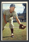 1953 Bowman Color Baseball # 105  Eddie Joost Philadelphia Athletics VG