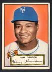 1952 Topps Baseball # 003 Hank Thompson New York Giants EX