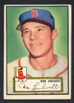 1952 Topps Baseball # 004 Don Lenhardt Boston Braves VG-2