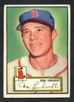 1952 Topps Baseball # 004 Don Lenhardt Boston Braves VG-3