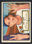 1952 Topps Baseball # 005 Larry Jansen New York Giants EX