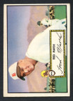 1952 Topps Baseball # 008 Fred Marsh St. Louis Browns VG