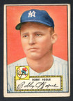 1952 Topps Baseball # 009 Bobby Hogue New York Yankees VG-1