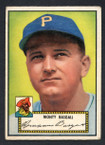 1952 Topps Baseball # 012 Monty Basgall Pittsburgh Pirates VG