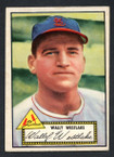 1952 Topps Baseball # 038 Wally Westlake St. Louis Cardinals EX