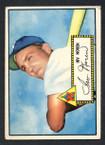 1952 Topps Baseball # 040 Irv Noren Washington Senators EX