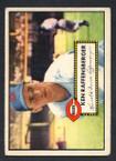 1952 Topps Baseball # 118 Ken Raffensberger Cincinnati Reds VG-2