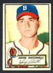 1952 Topps Baseball # 140 John Antonelli Boston Braves VG-2