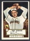 1952 Topps Baseball # 212 Ned Garver St. Louis Browns VG