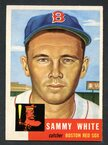 1953 Topps Baseball # 139  Sammy White Boston Red Sox EX/MT