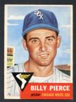 1953 Topps Baseball # 143  Billy Pierce Chicago White Sox EX/MT