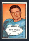 1953 Bowman Football # 006  Doak Walker Detroit Lions VG-1