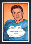1953 Bowman Football # 006  Doak Walker Detroit Lions VG-2