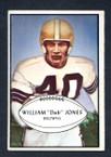1953 Bowman Football # 046  William Jones Cleveland Browns EX