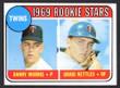 1969 Topps Baseball # 099 a Graig Nettles Minnesota Twins EX/MT