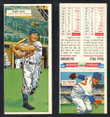 1955 Topps Double Header Baseball # 085 Elmer Valo Athletics & # 86 Hal Brown Red Sox VG