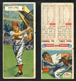 1955 Topps Double Header Baseball # 081 Danny Schell Phillies & # 82 Gus Triandos Orioles G