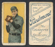 1909 T206    Rhoades, Bob  Hands at Chest  Cleveland Naps  Good 409