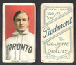 1909 T206     Rudolph, Dick   Portrait   Toronto (ML) Very Good 417