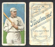 1909 T206     Oldring, Rube   Batting   Philadelphia Athletics  Good 365