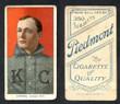 1909 T206    Dorner, Gus  Portrait  Kansas City (ML) Good 140