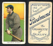 1909 T206     Abbaticchio, Ed   Brown Sleeves   Pittsburgh  Very Good 002