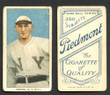1909 T206  Herzog, Buck   Standing   New York Giants  Very Good 210-1
