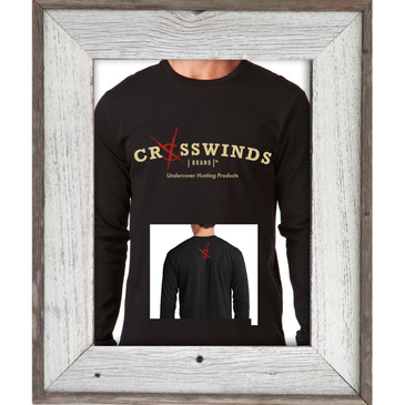 Crosswinds Brand Black Long Sleeve Shirt