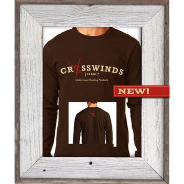 Crosswinds Brand Brown Long Sleeve Shirt