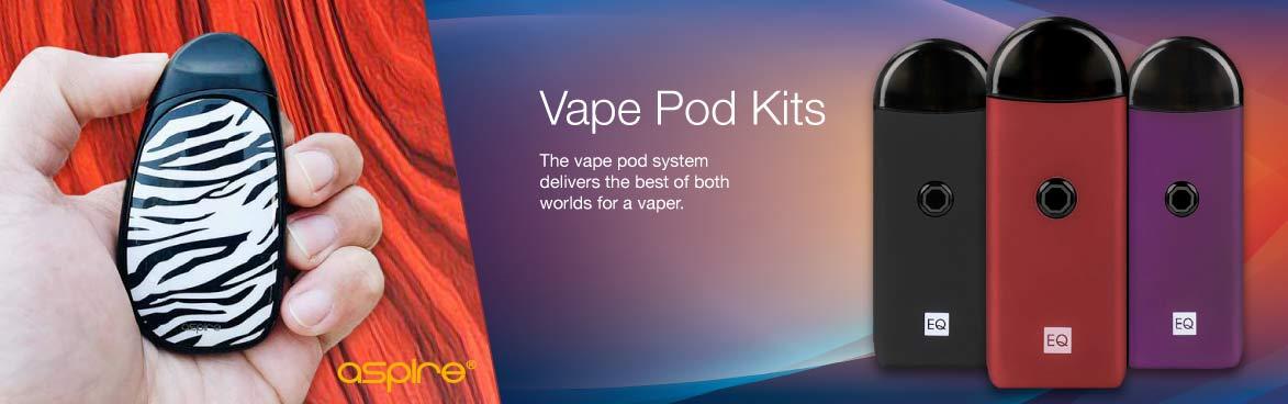 Innokin EQ Aspire Cobble POD system kits