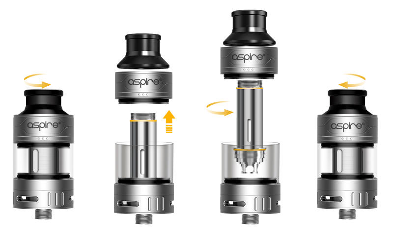 changing aspire cleito pro coil