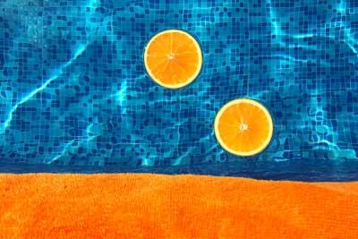 Floating Oranges