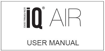 iQ Air User Guide