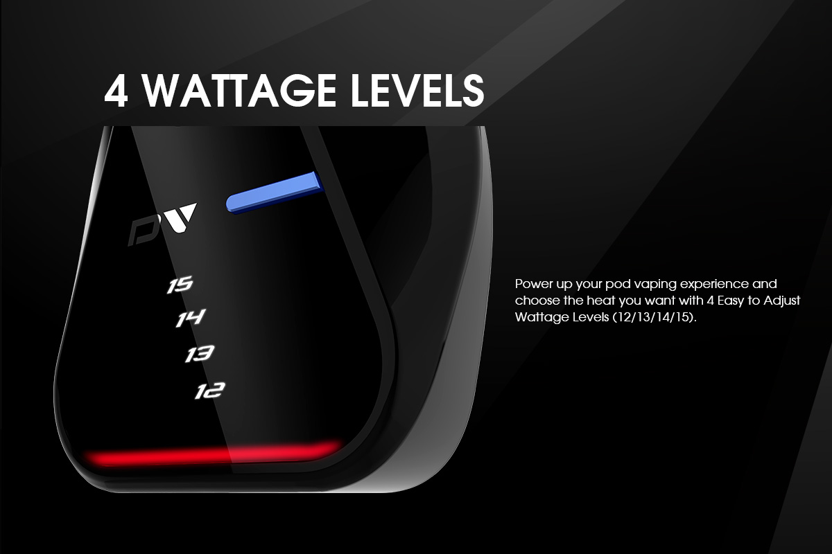 Innokin DV wattage levels
