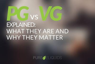 PG vs VG E-liquid