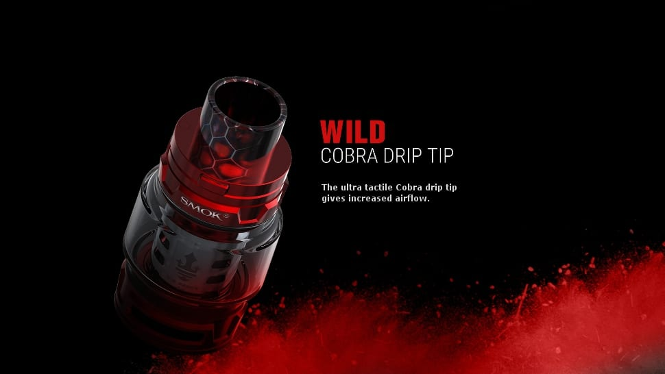 Smok Prince big tank option. 5ml and 8ml tanks