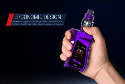 Man holiding Smok Mag 225W Mod