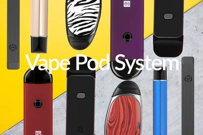 Vape Pods Kits & Pods | Pure E Liquids