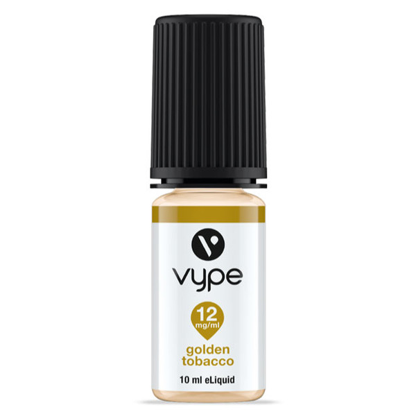 Vype Golden Tobacco 10ml eliquid bottle