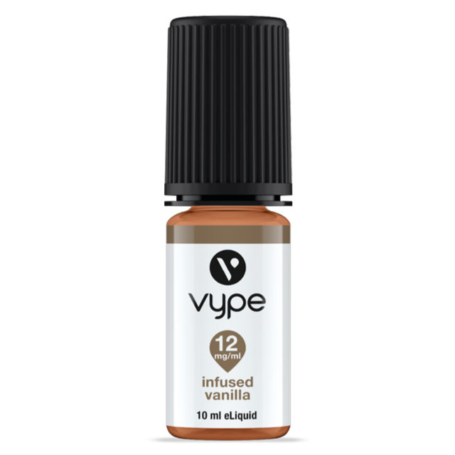 VYPE INFUSED VANILLA e liquid; 10ml BOTTLE