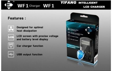 Efan W1 2 bay Battery Charger Options