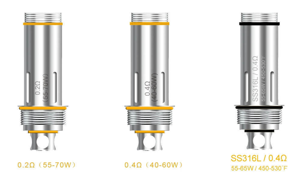 Aspire Cleito Coil UK Options