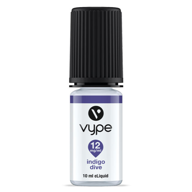 Indigo Dive e liquid from the Vype Cool Collection