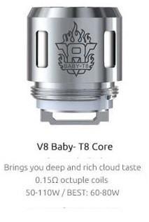 Alien Coils. TFV8 Options 2. Smok TFV8 Baby T8 Core