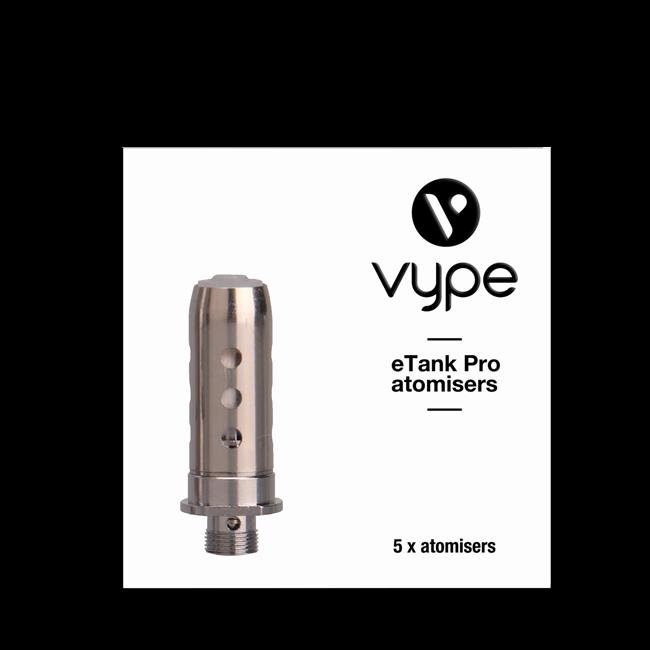 Vype eTank Pro Coil atomisers for Vype eTank Pro