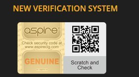 Verification of Your Cleito Exo. Aspire Authentication